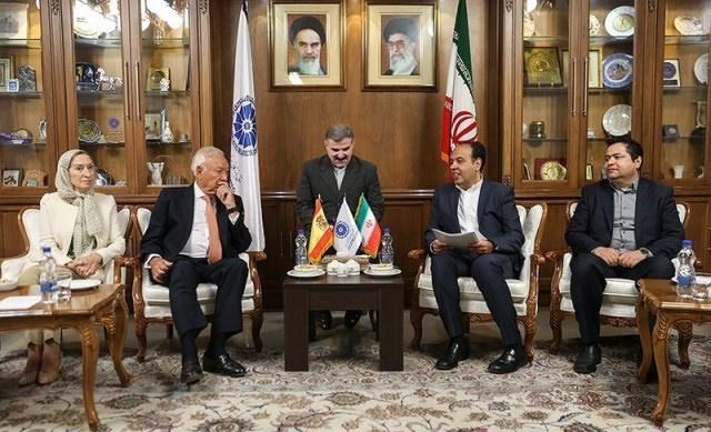 اسپانیا,محمدجواد ظریف,حسن روحانی,علی لاریجانی