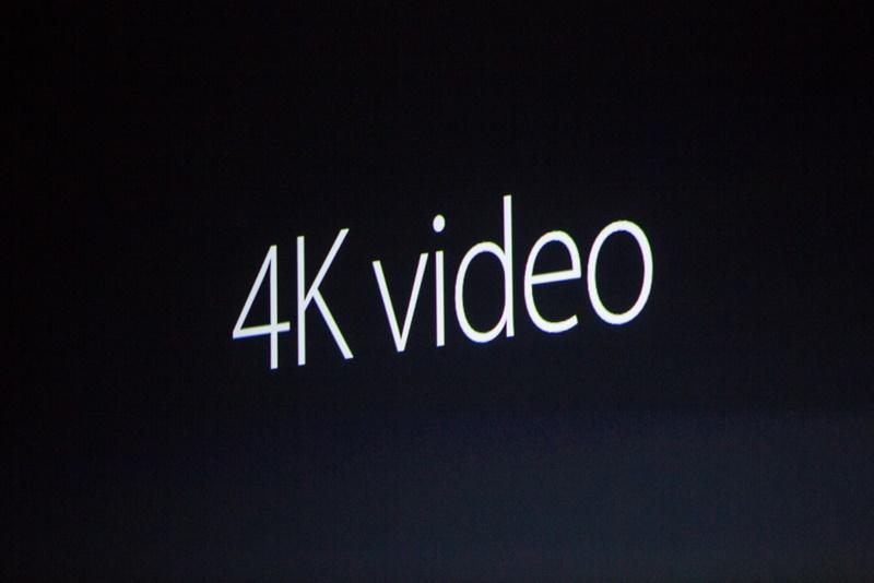 ویدئوهای 4K در آیفون های جدی