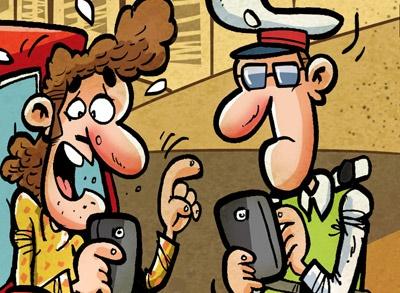 کاریکاتور/ پیامکهای جدید پلیس!