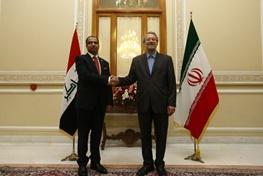 علی لاریجانی,ایران و عراق,عراق