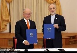 توافق هسته ای ایران و پنج بعلاوه یک برجام ,علیاکبر صالحی,یوکیا آمانو