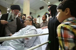 آیتالله خامنهای رهبر معظم انقلاب,جانبازان و ایثارگران