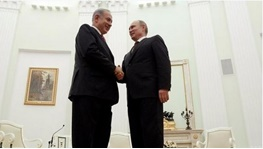 بنیامین نتانیاهو,ولادیمیر پوتین