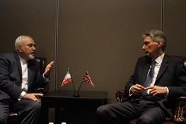 محمدجواد ظریف,ایران و انگلیس