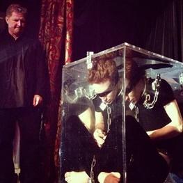 کریس انجل شعبده بازی حوادث واقعی جادوگری