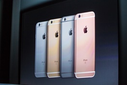 اولین عکس رسمی از آیفون 6 اس و 6 اس پلاس در کنفرانس اپل