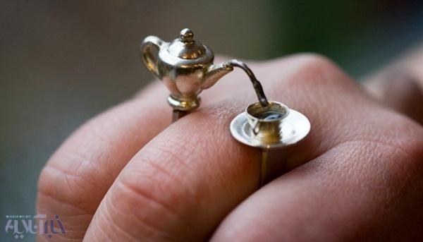 حلقه ها و انگشترهای متفاوت و دیدنی