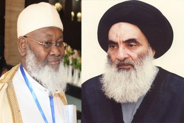 نظر مفتی کل شورای اسلامی فرانسه درباره آیت الله سیستانی
