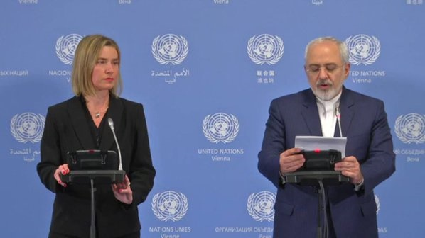 متن بیانیه مشترک ظریف و موگرینی/ همه تحریم های هستهای برداشته شد