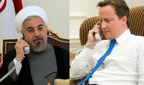 روحانی در تماس دیوید کامرون: باید کمکاریهای گذشته در حوزههای سیاسی و اقتصادی را جبران کرد
