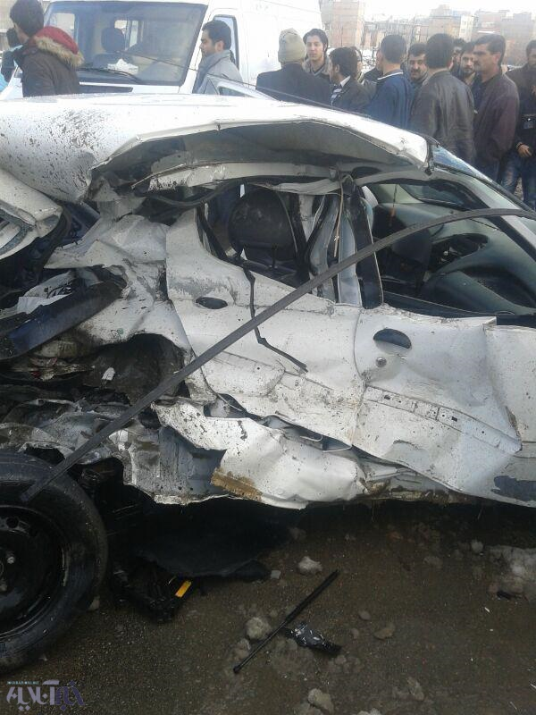 تصادف دیروز اصفهان تصادف خونین در پل قویون ارومیه