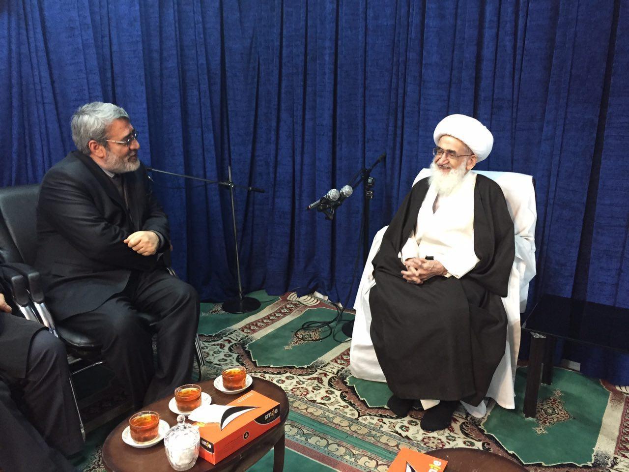 چرا وزیر کشور به قم رفت؟/ توصیه انتخاباتی آیت الله موسوی اردبیلی به رحمانی فضلی