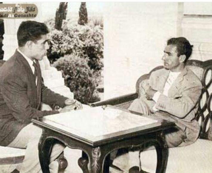 توضیحاتی درباره تصویر قدیمی خبرساز ملاقات غلامرضا تختی و شاه مخلوع