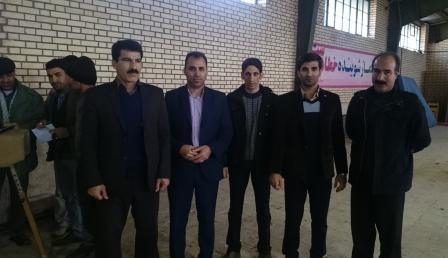 بازدید رئیس هیأت ژیمناستیک استان از خانه ژیمناستیک شهرستان سلسله