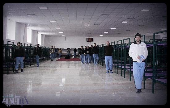 کمپ ماده 16 ترک اعتیاد اجباری در تبریز