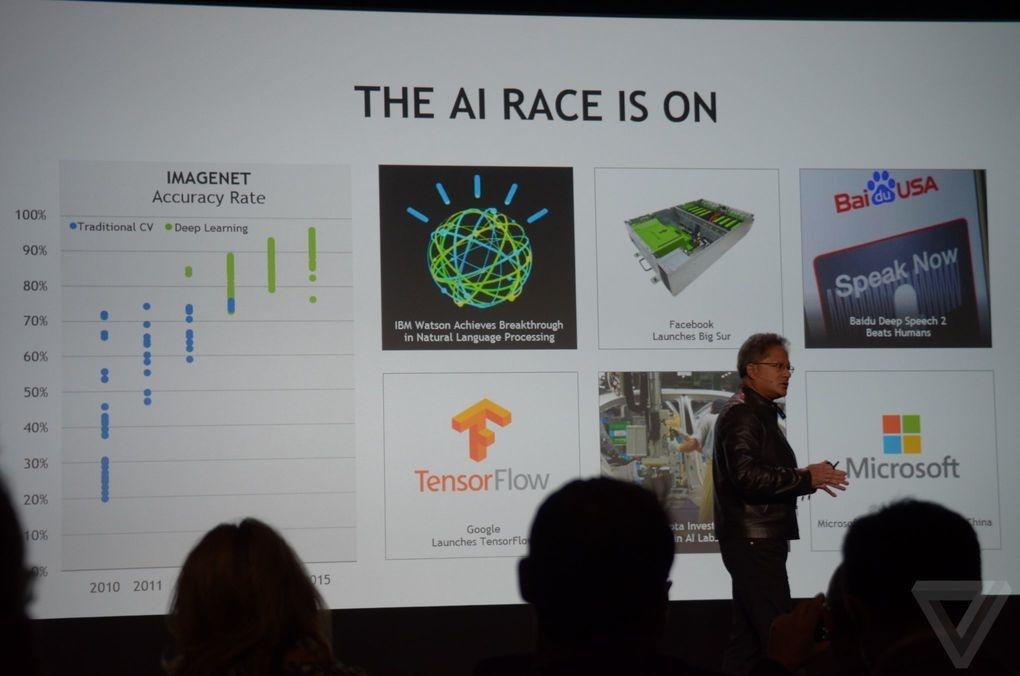 رونمایی از سوپرکامپیوتر انویدیا باقدرتی معادل 150 لپتاپ مک بوک پرو در نمایشگاه CES 2016