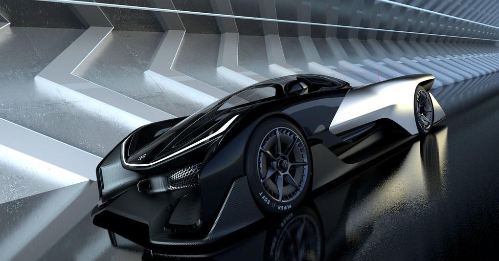 رونمایی از خودروی مفهومی فارادی با 1000 اسب بخار در CES 2016