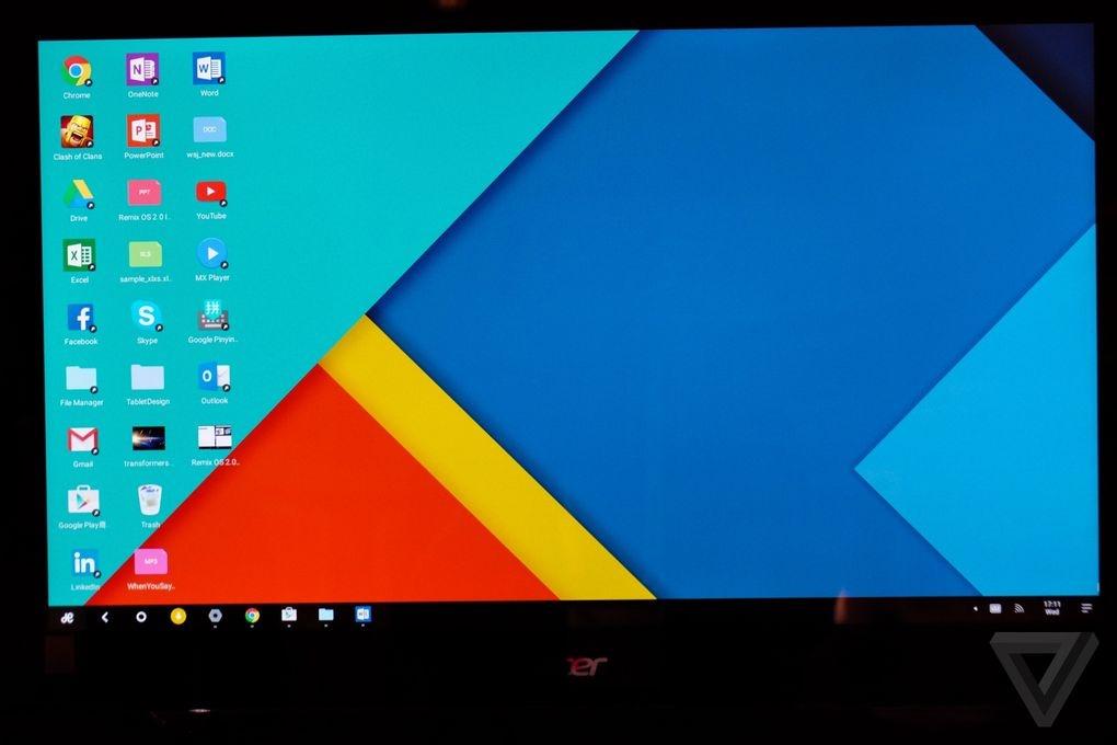 رونمایی از سختافزار و سیستمعامل Remix: اندروید بهینهشده برای هر نوع پی سی و لپ تاپ