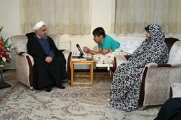 حسن روحانی,شهیدان دفاع مقدس و انقلاب اسلامی,جانبازان و ایثارگران