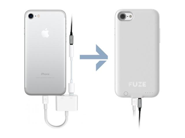 پوشش جدید برای آیفون ۷ که هم باتری اضافه دارد و هم جک هدفون