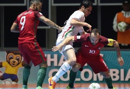 درگیری در بازی ایران و پرتغال که به نفع ما تمام شد
