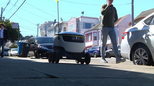 پیکهای خودران بهزودی در خیابانهای واشنگتن