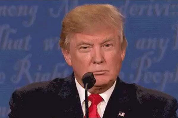 فیلم   تصاویری متفاوت از ترامپ و کلینتون در آخرین مناطره