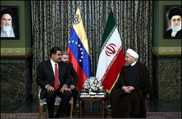 روحانی در دیدار با مادورو:حمایت ایران از ثبات در بازار نفت