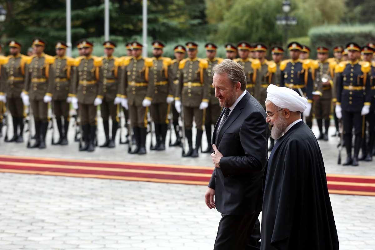 تصاویر | استقبال رسمی دکتر روحانی از رییس شورای ریاست جمهوری بوسنی و هرزگوین