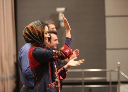 حضور میترا حجار در اکران ویژه یک فیلم در باره اسیدپاشی/ آرزو داریم حتی به نجات جان یک نفر کمک کنیم
