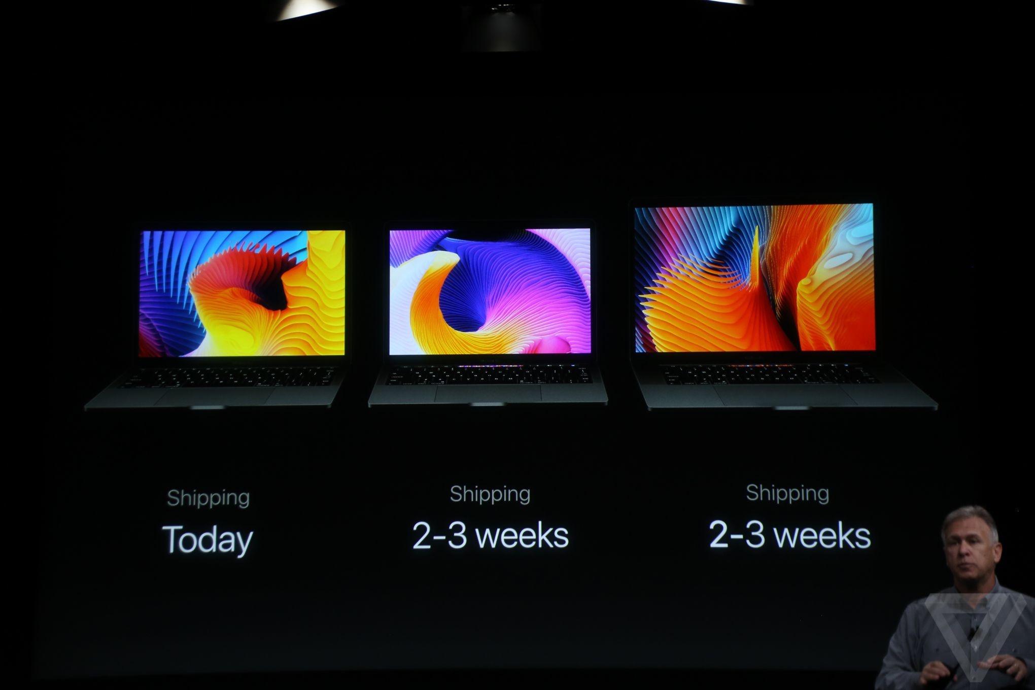 برگزیده تصویری مراسم رونمایی از سه لپتاپ جدید مک بوک پرو اپل