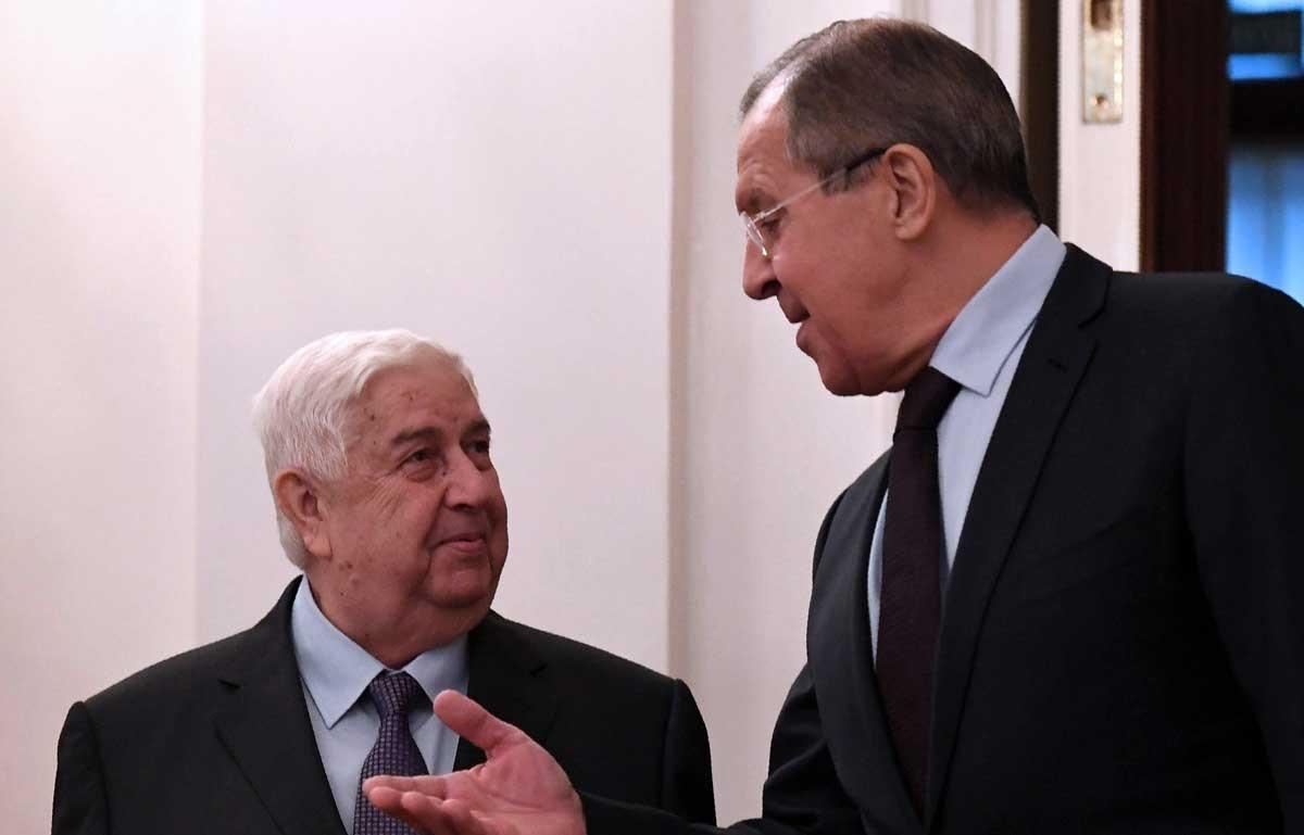 تصاویر | نشست سه جانبه وزرای خارجه ایران،سوریه و روسیه