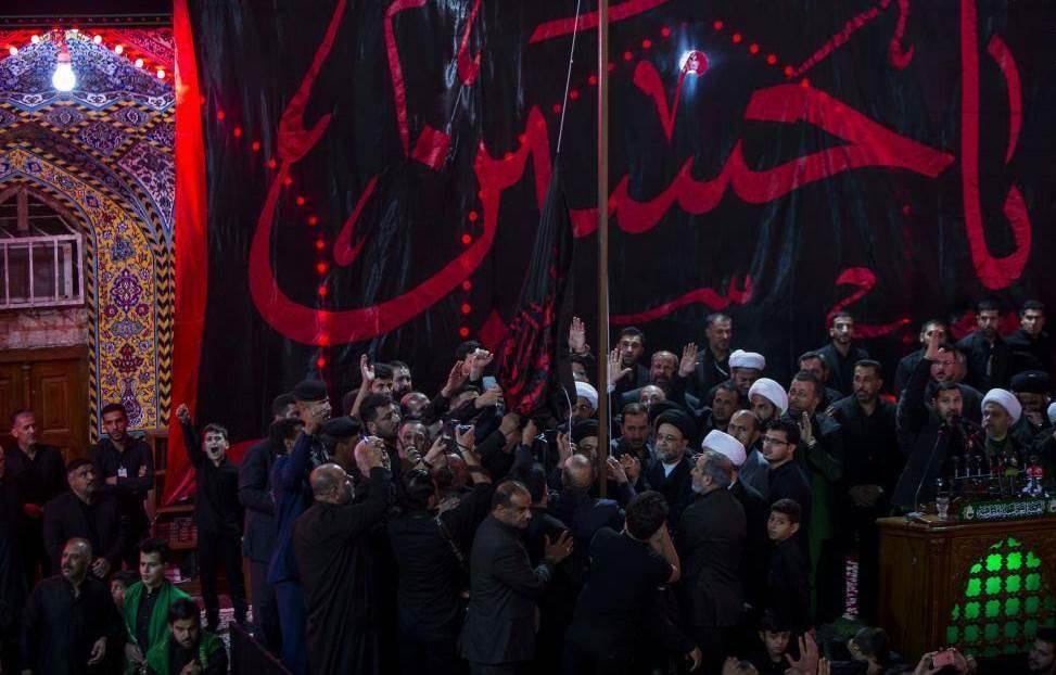تصاویر   شب اول محرم در حرم حضرت ابوالفضل(ع)