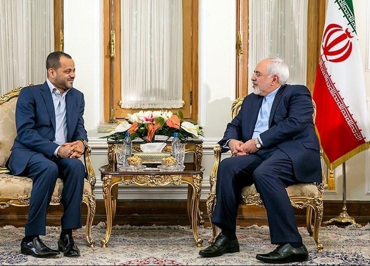 تصاویر   دیدار قائممقام وزیر امورخارجه عمان با ظریف