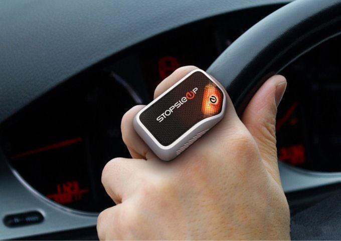 ضد خواب هوشمند برای رانندگان بیابان و خیابان / عکس