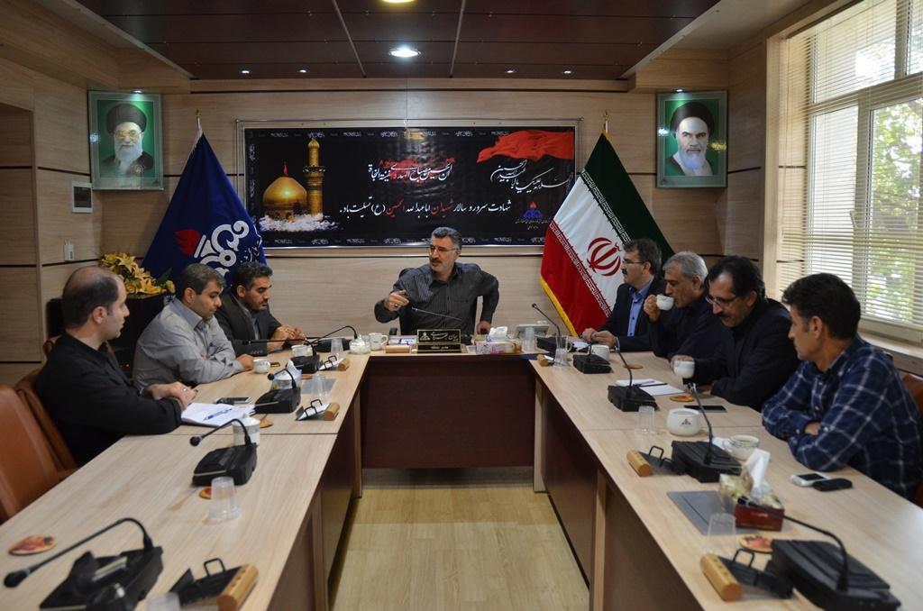برگزاری جلسه هماهنگی ستاد اربعین در شرکت ملی پخش فراورده های نفتی منطقه لرستان