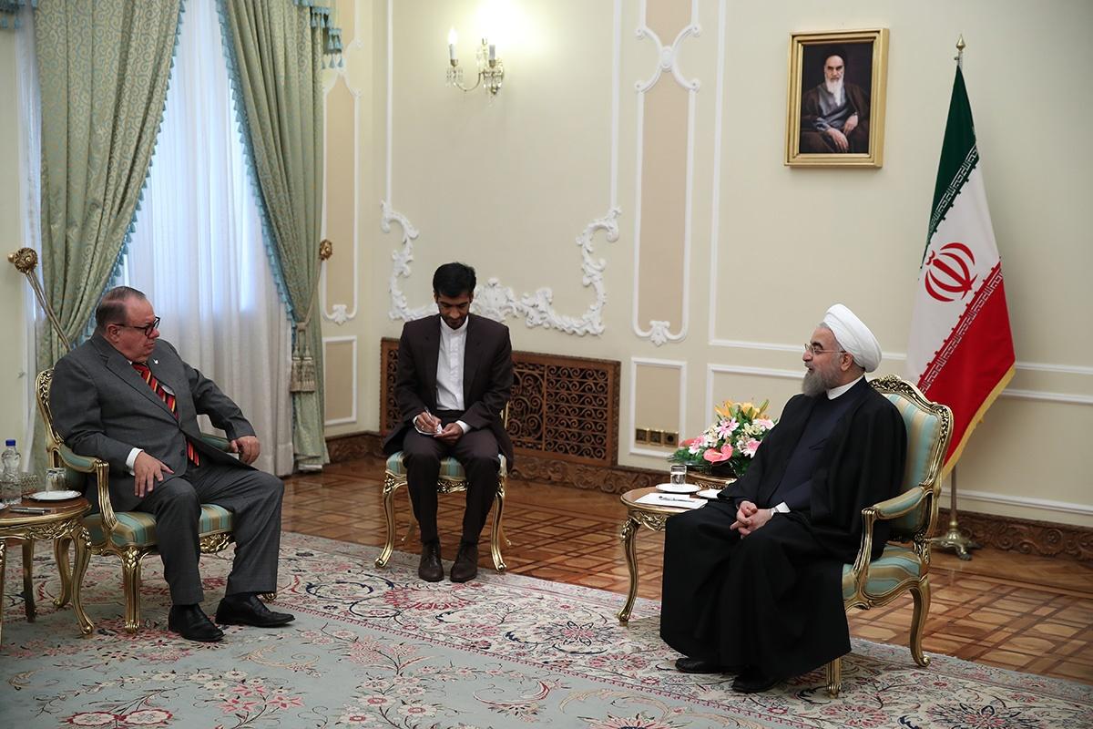 توصیه روحانی به سفرای جدید ایران؛ توانمندیهای ایران به بخشهای خصوصی خارجی معرفی شوند