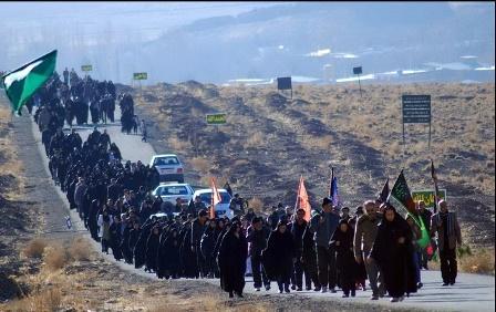 ثبت نام ۷۵۰۰ زائر از چهارمحال و بختیاری برای پیاده روی اربعین حسینی