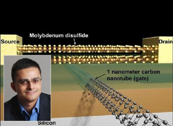 ساخت کوچکترین ترانزیستور جهان