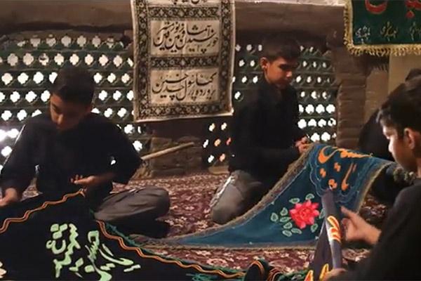 فیلم   «رفیقم حسین» با صدای زمانی و عبدالرضا هلالی
