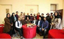 بازدید شهردار و اعضای شورای اسلامی شهر رشت از مراحل تولید فیلم بلدیه