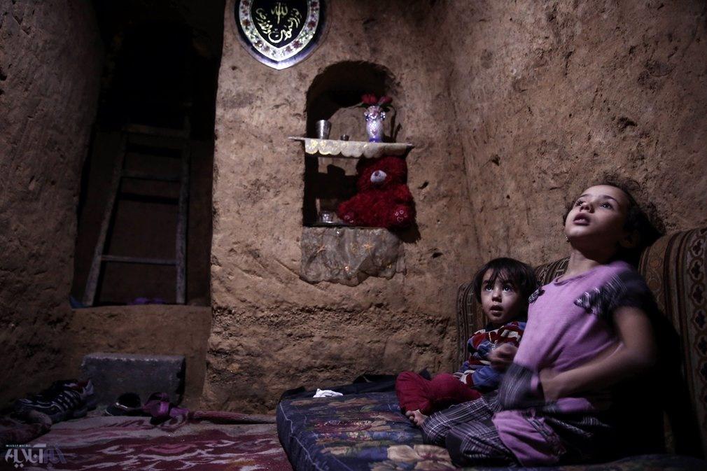 عکس | پناهگاه این روزهای کودکان سوری