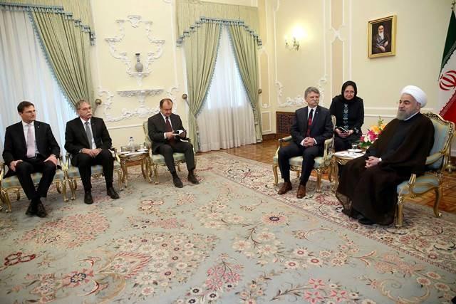 تصاویر   دیدار رییسمجلس ملی مجارستان با رییسجمهور