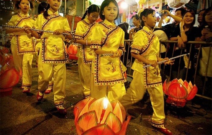 تصاویر   سنت شکرگزاری به وقت نیمه پاییز در شرق آسیا
