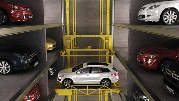 ساخت پارکینگ کاملا رباتیک برای حل مشکل جای پارک