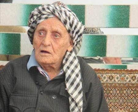 پیرمرد ۱۳۵ساله کردستانی، تنها مردکهنسال دنیا میان پیرزنها