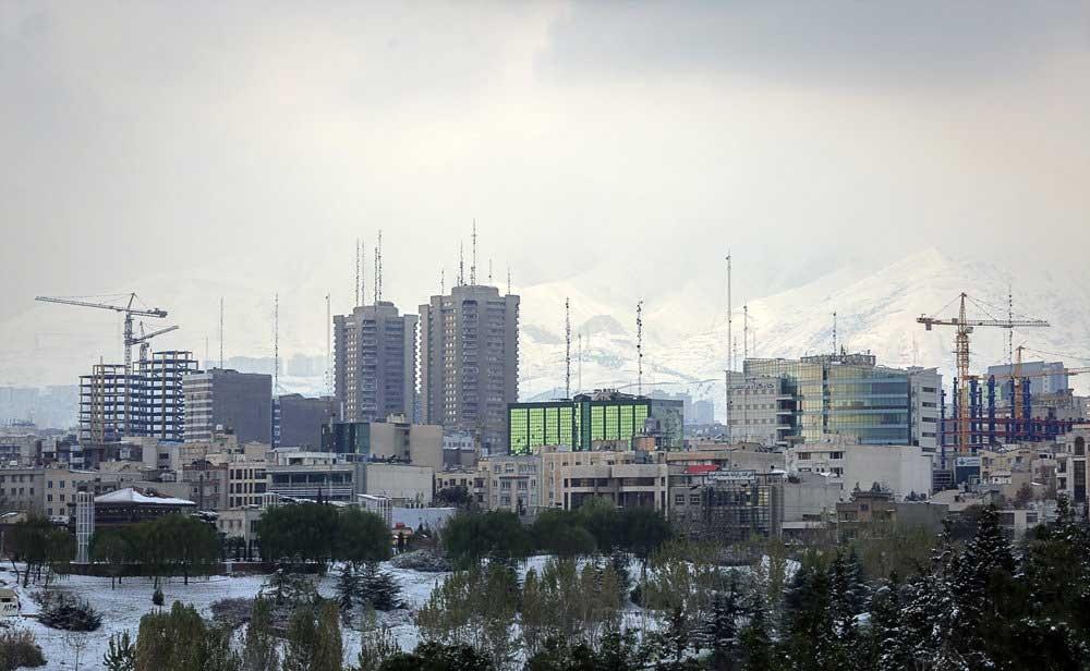 تصاویر | تهران پس از بارش برف