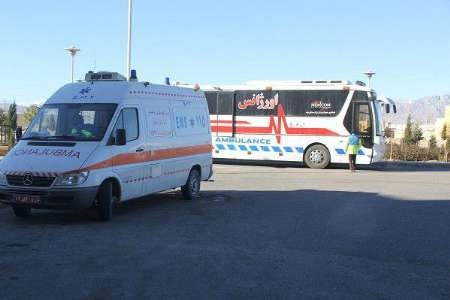 تصاویر | امدادرسانی به مجروحان حادثه قطار سمنان