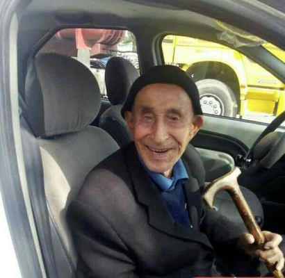 یکی از پیرترین مردان ایران درگذشت