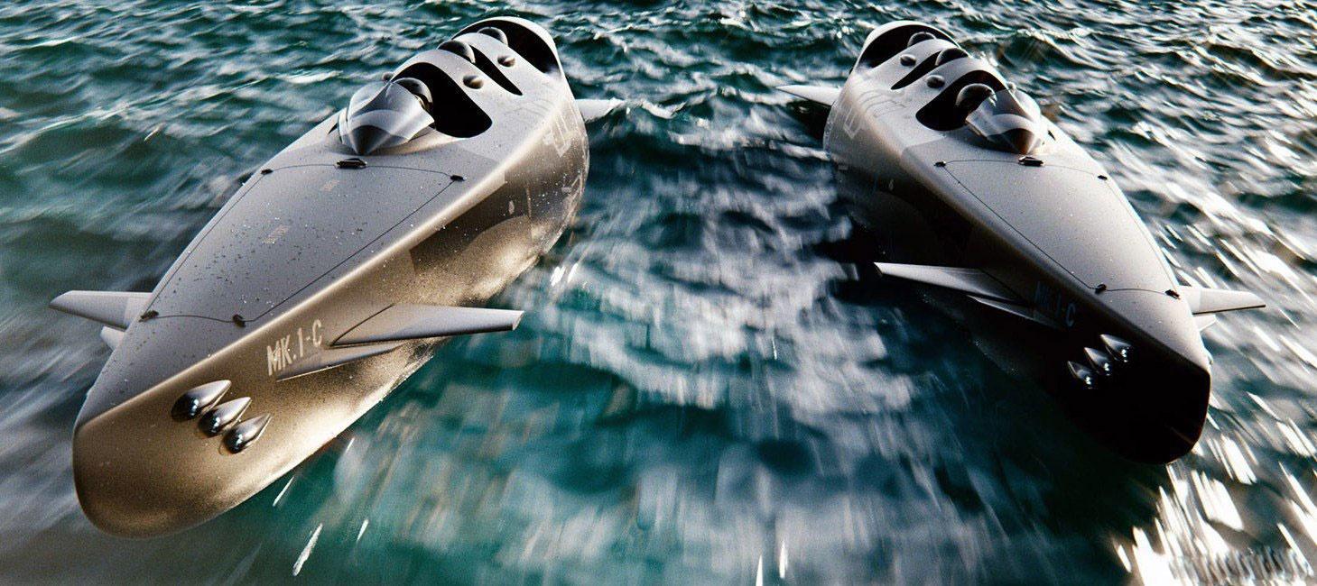 ماجراجویی فناورانه با زیردریایی فوق مدرن ۳ نفره / عکس